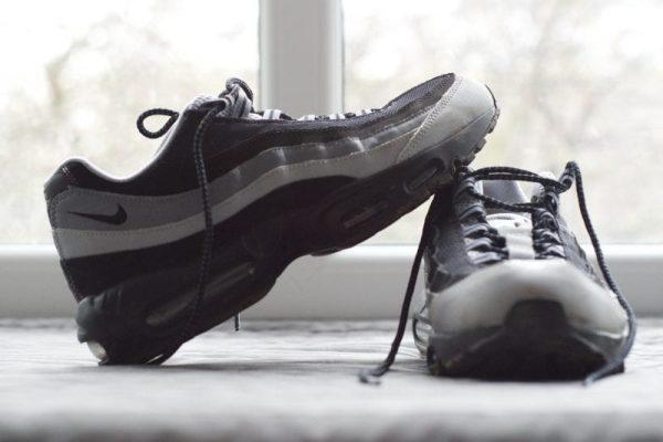 Air max 95 Black/Grey UK 9