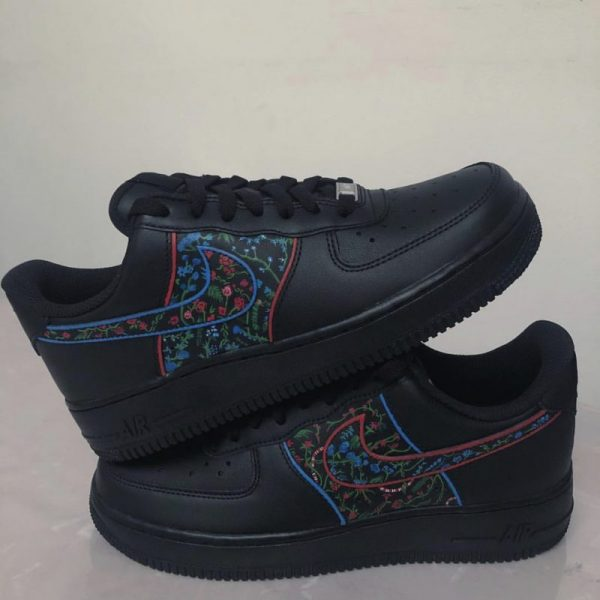Custom Air Force 1 'Sophisticated Dominance' UK 6