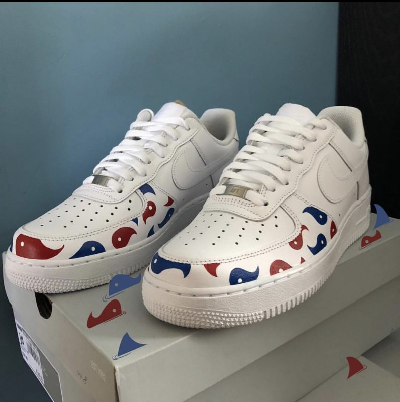 Custom Air Force 1 'twobalance' UK 8