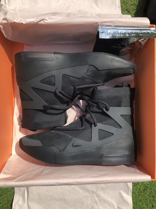 Nike Fear of God 1 Triple Black UK 11 / UK 12