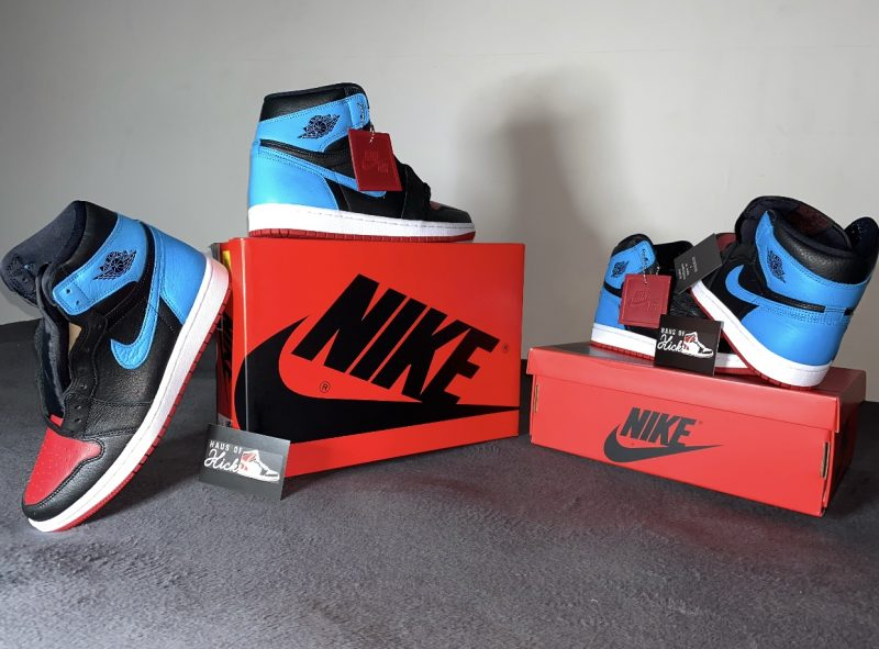 Jordan 1 Retro High 'UNC to CHI'