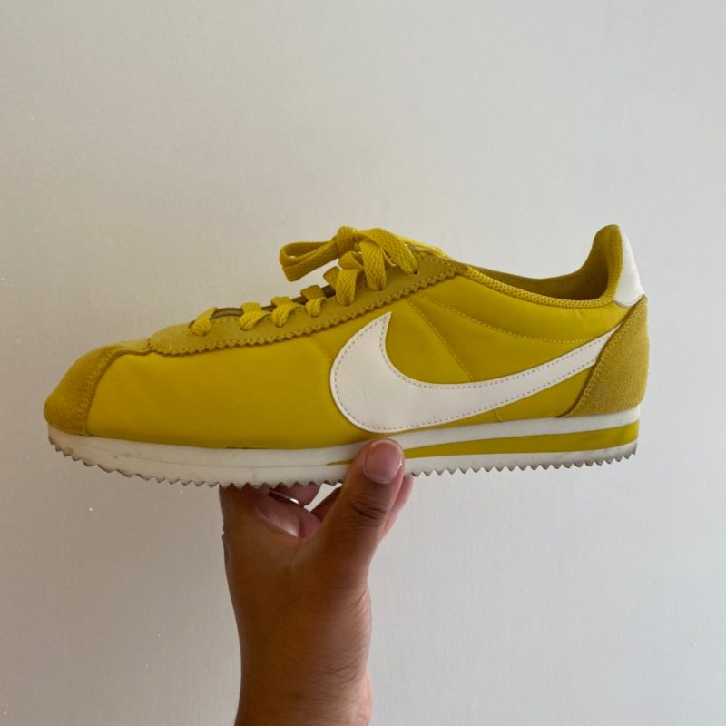 NIKE CORTEZ SUEDE - YELLOW