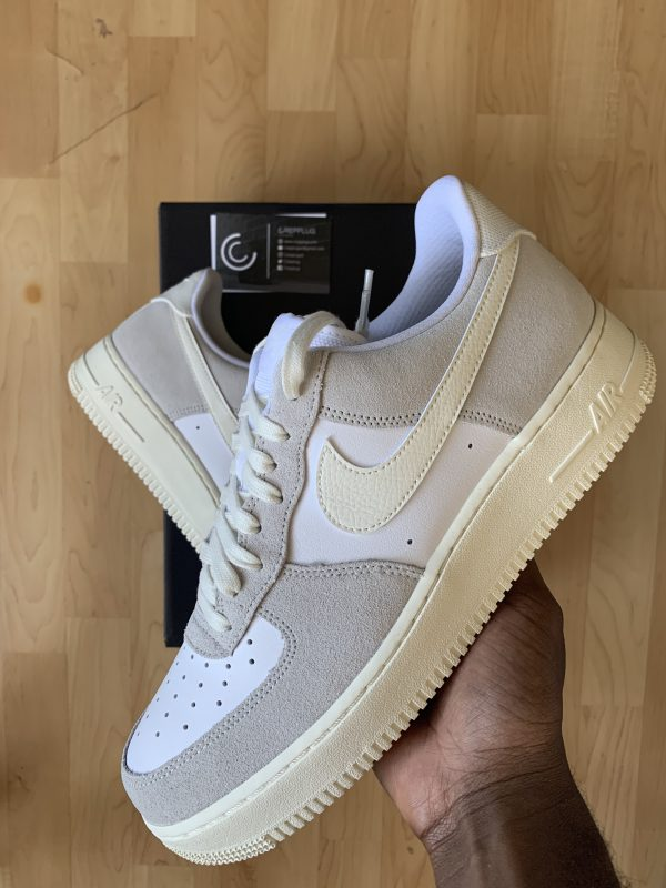 Air Force 1 Lv8 White Sail Platinum Tint