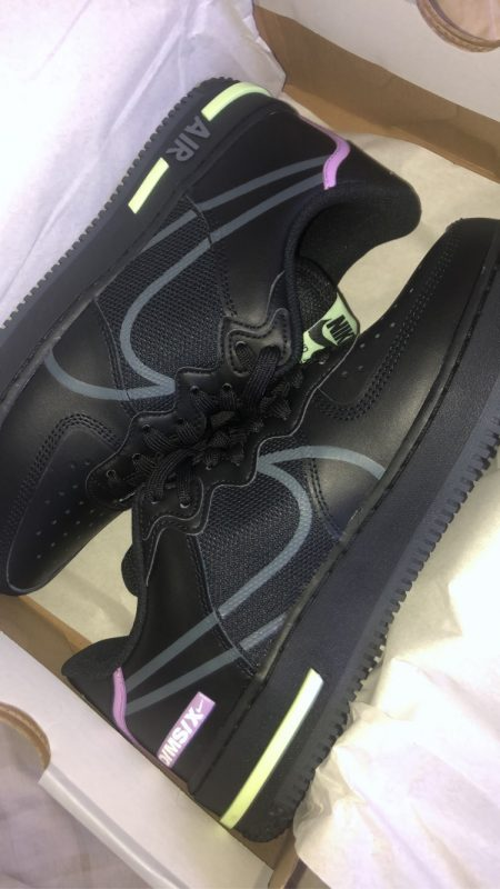 Nike Air Force 1 Reacts (Black)