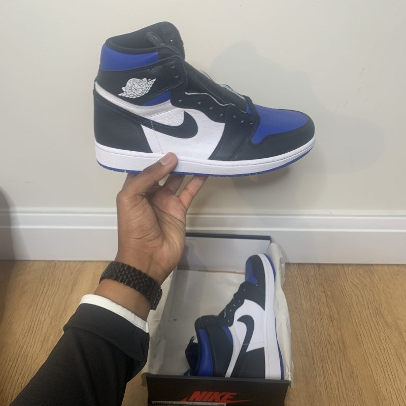 Jordan 1 Royal Toe Uk11