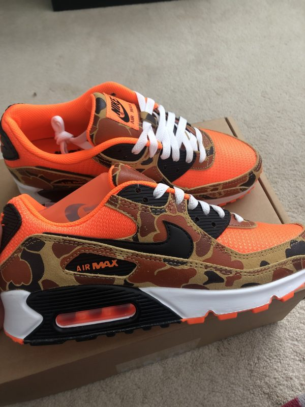 Air Max 90 Duck Camo Orange