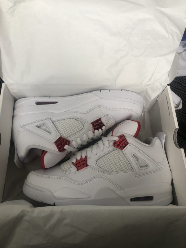 Jordan 4 metallic red size uk 8