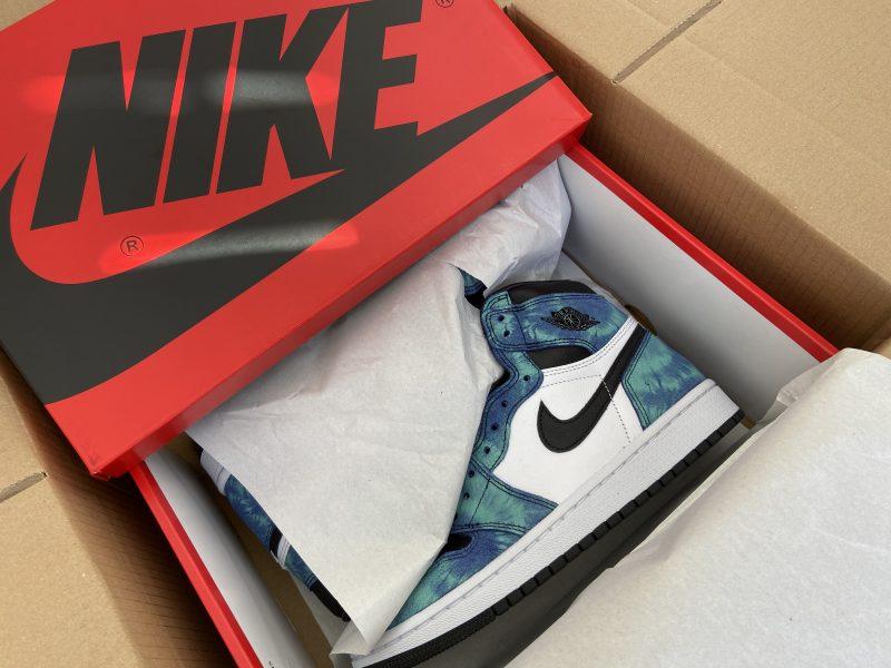 Nike Air Jordan High OG Tie Dye (Women's) UK5 *IN HAND*