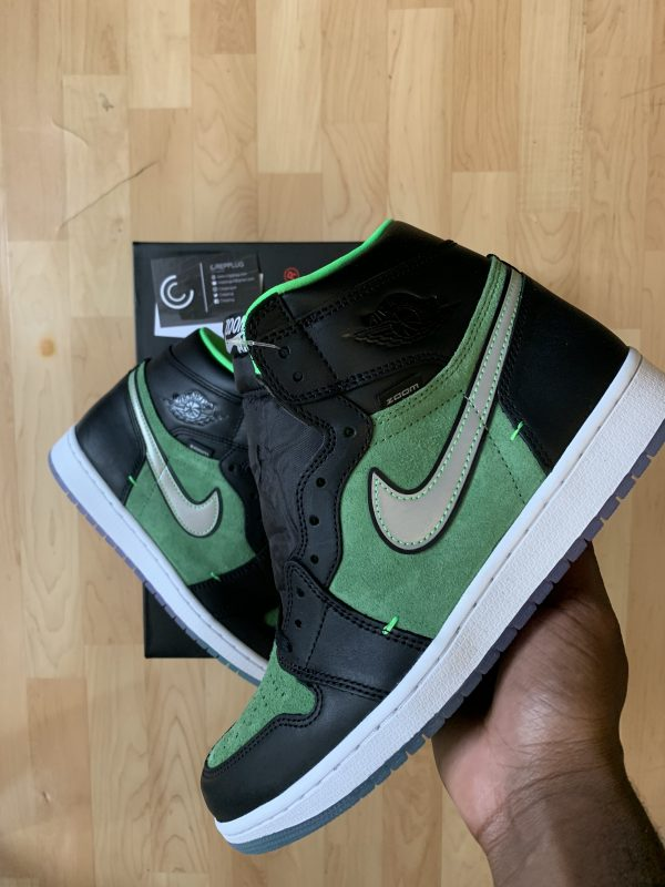 Air Jordan 1 High Zoom Black/Green