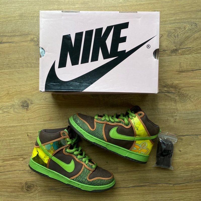 Nike SB Dunk High De la Soul 2005