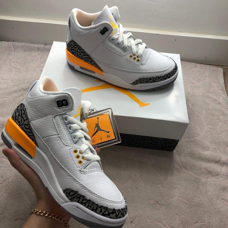 Jordan 3 Lazer Orange