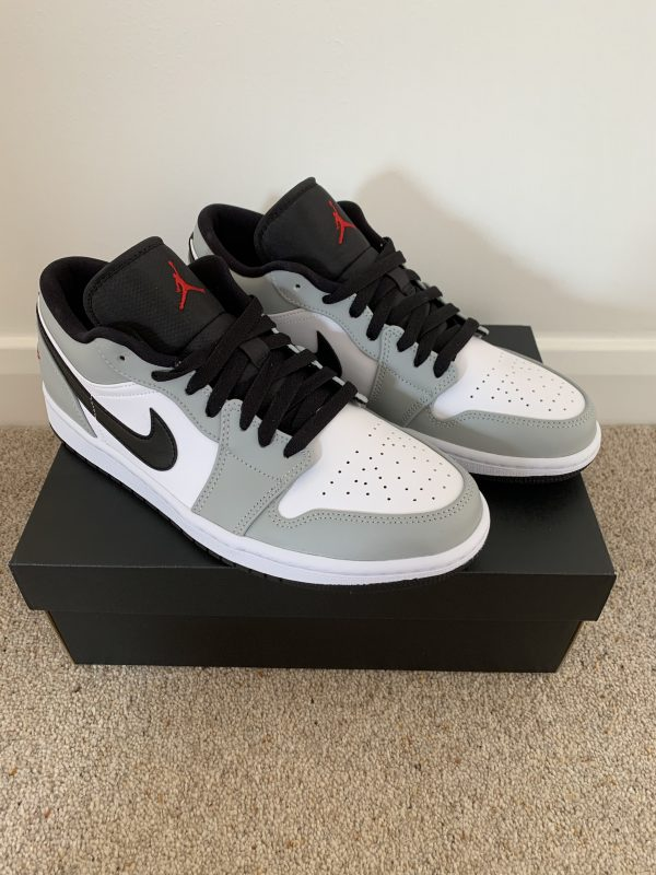 Jordan 1 Low Smoke Grey