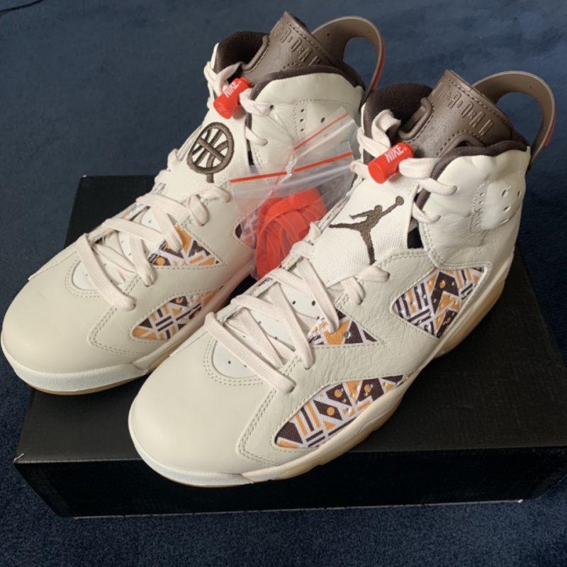 Nike Air Jordan 6 QUAI 54 | Sail | CZ4152-100 | 2020 | UK8.5/US9.5