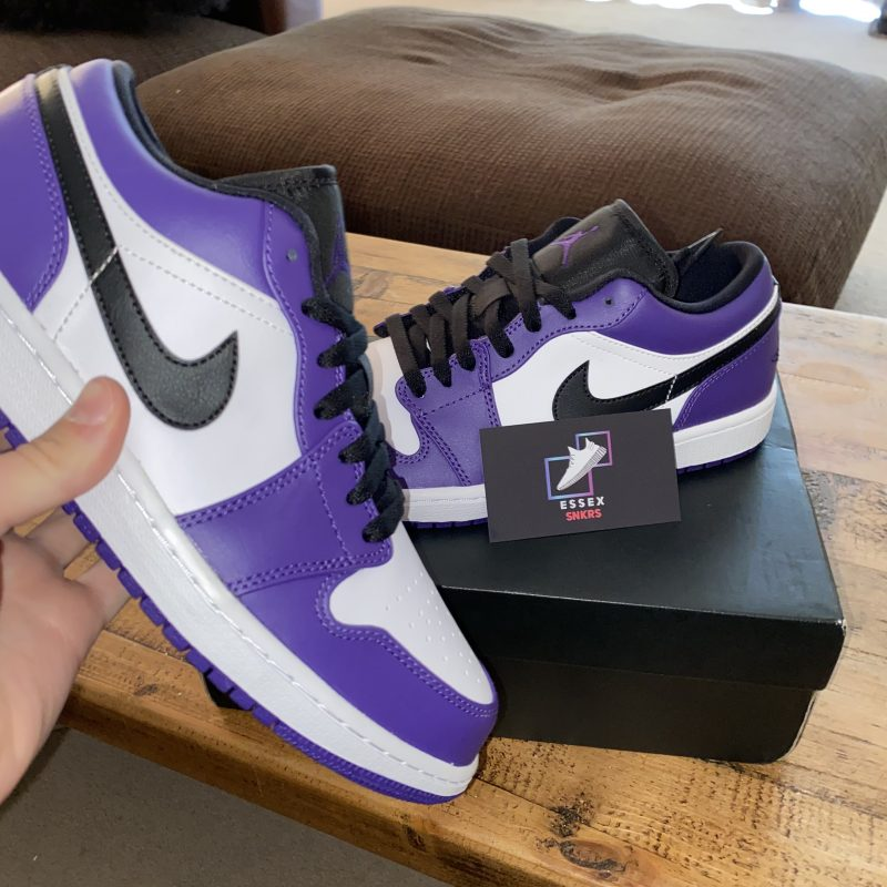 Jordan 1 Court Purple Low UK5.5