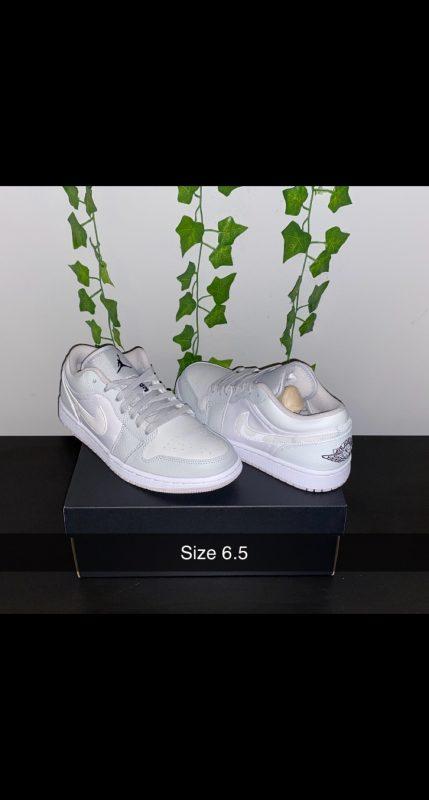 Jordan 1 Low grey camo