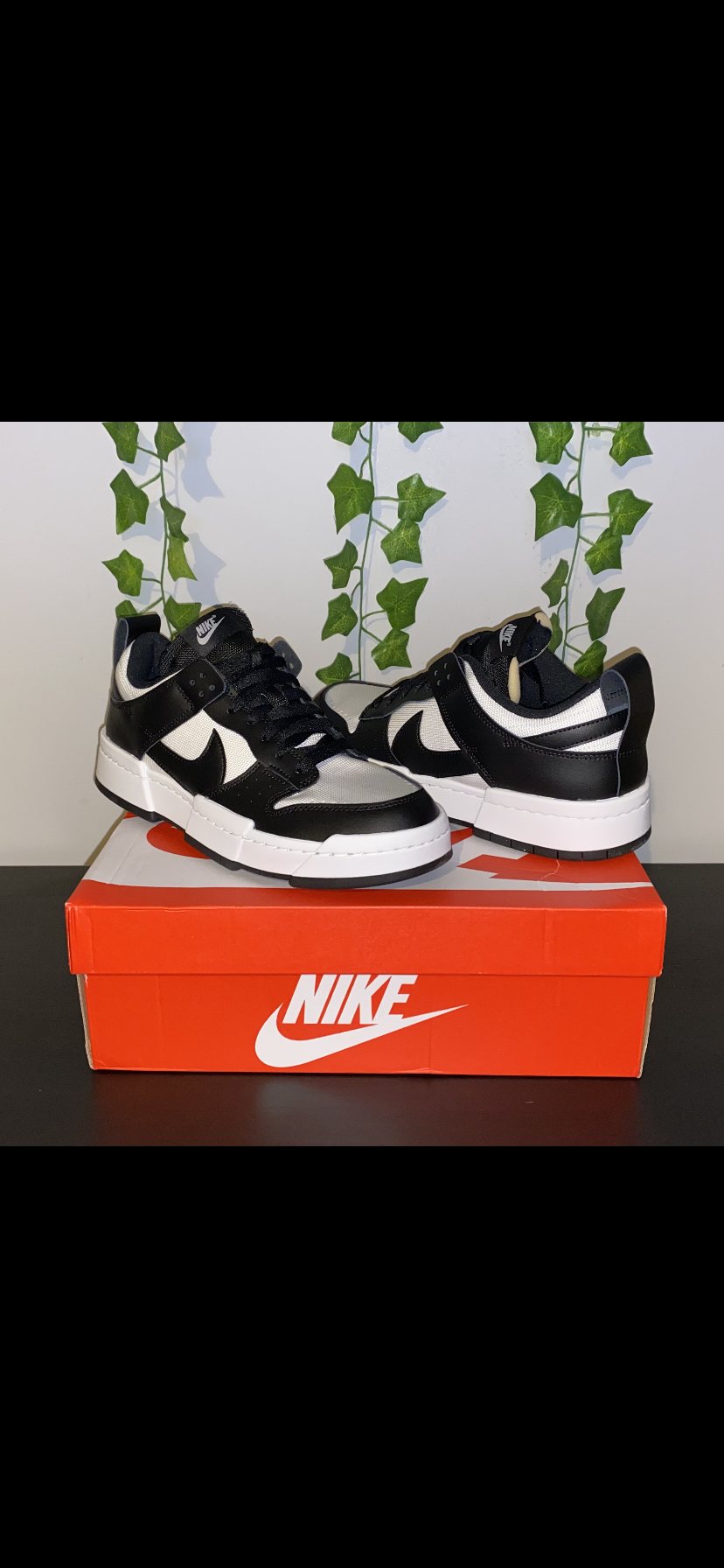 Nike dunk Low disrupt black/white