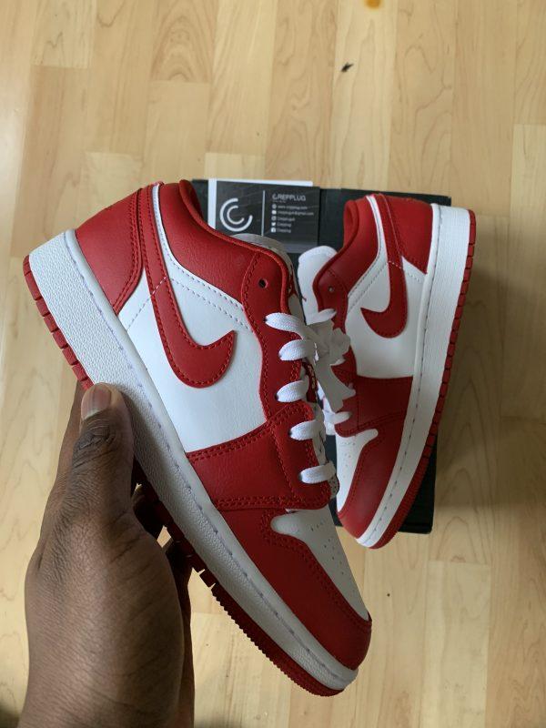 Jordan 1 Low Gym Red