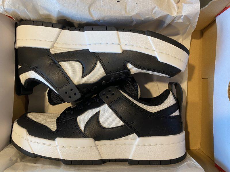 Nike Dunk Disrupt Black White