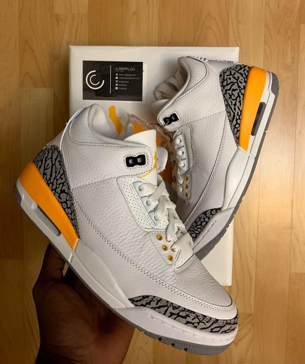 Jordan 3 Laser Orange