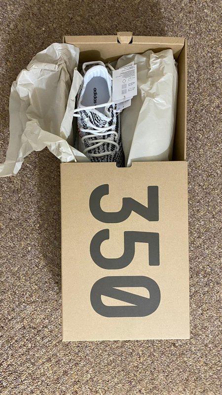 Originals YEEZY Boost 350 Zebra