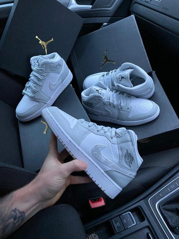Nike air jordan 1 mid camo