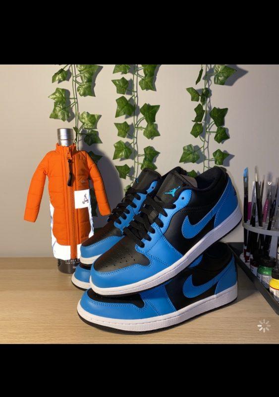 Jordan 1 laser blue