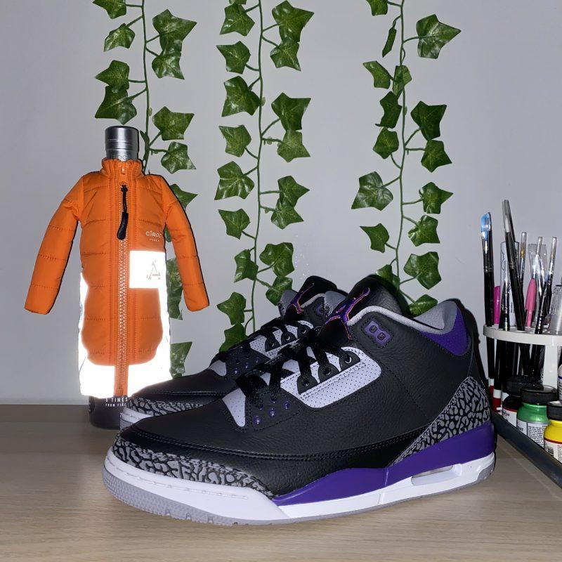 Jordan Retro 3 court purple