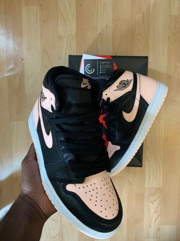 Jordan 1 Retro High Black Crimson Tint