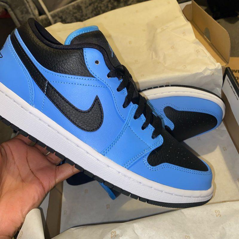 University Blue Low Jordan 1