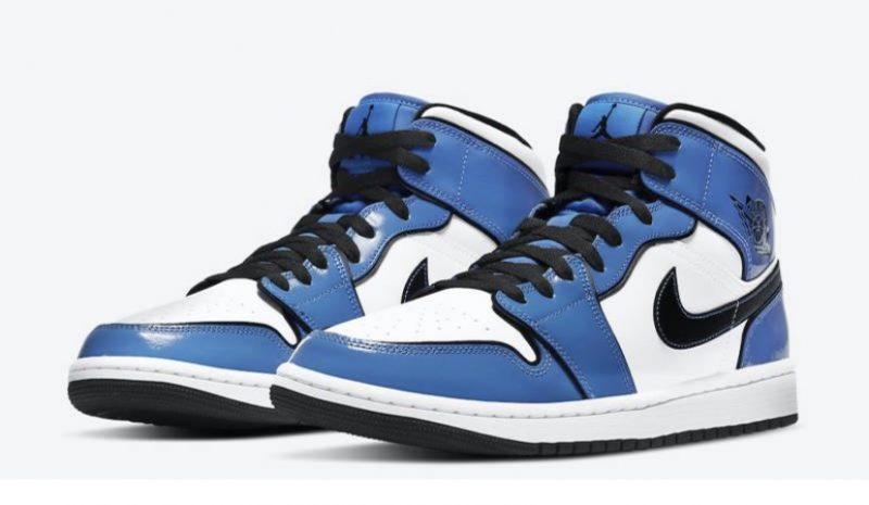 Jordan 1 SE signal blue