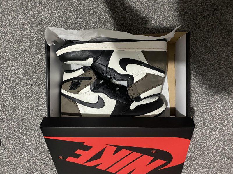 Brand new - Nike Jordan 1 Retro High OG Mocha - Size UK9