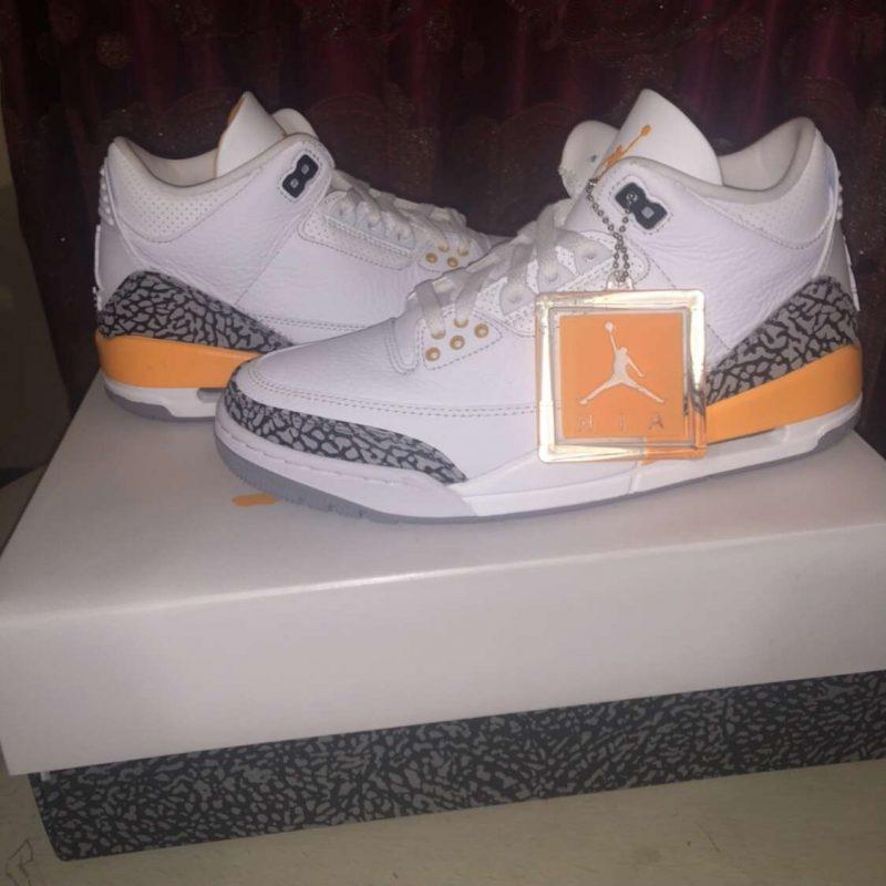 Jordan retro 3 laser orange WMNS