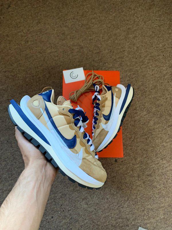 Sacai x Nike VaporWaffle Sesame Blue