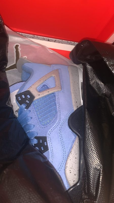 Jordan 4s University retro blue