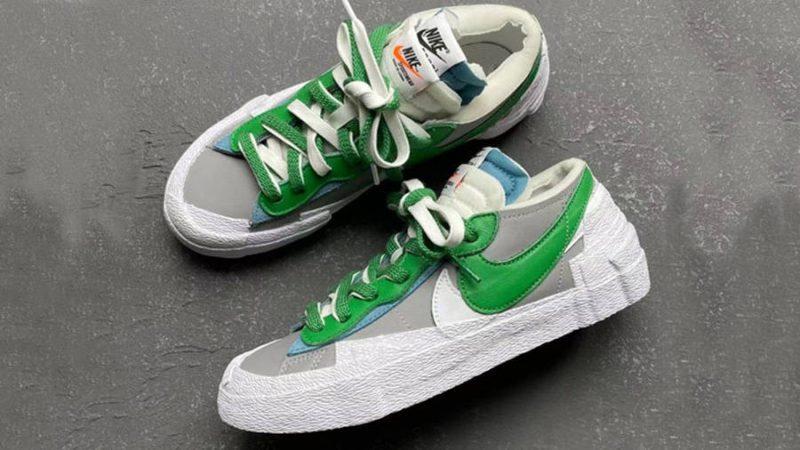 Blazer Low x sacai 'Classic Green'