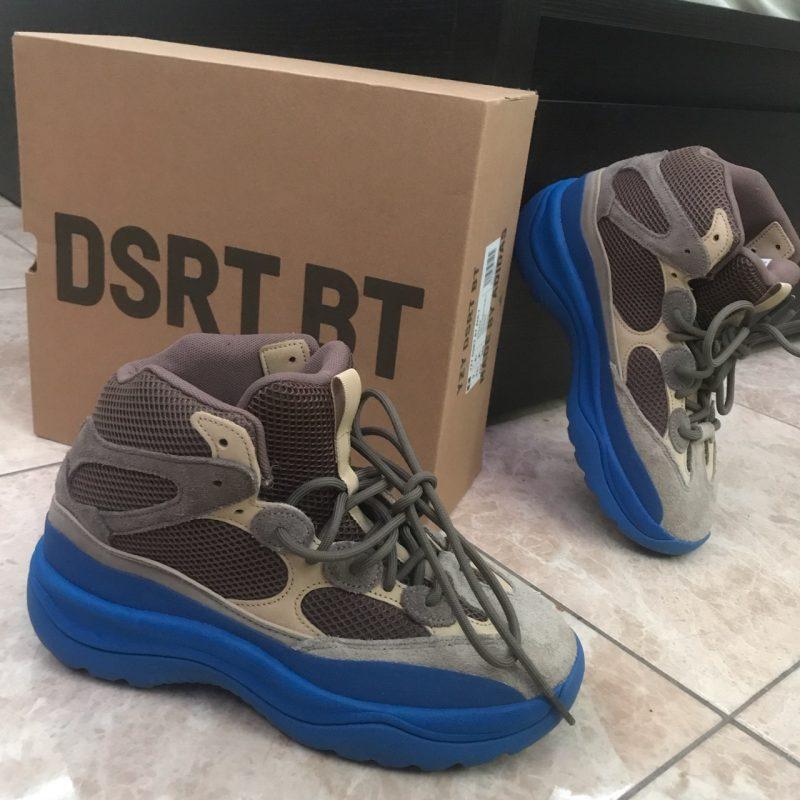 Adidas Yeezy Desert 'Taupe Blue' Boots
