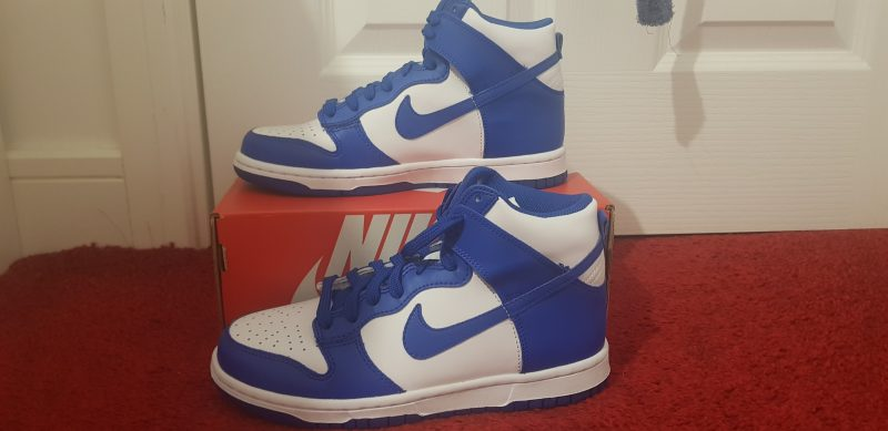 Nike Dunk High Game Royal Size 4.5
