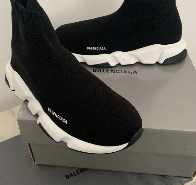 Balenciaga Speed Trainers- Black/White