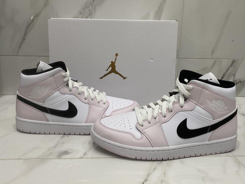 Nike Air Jordan 1 Mid Barely Rose