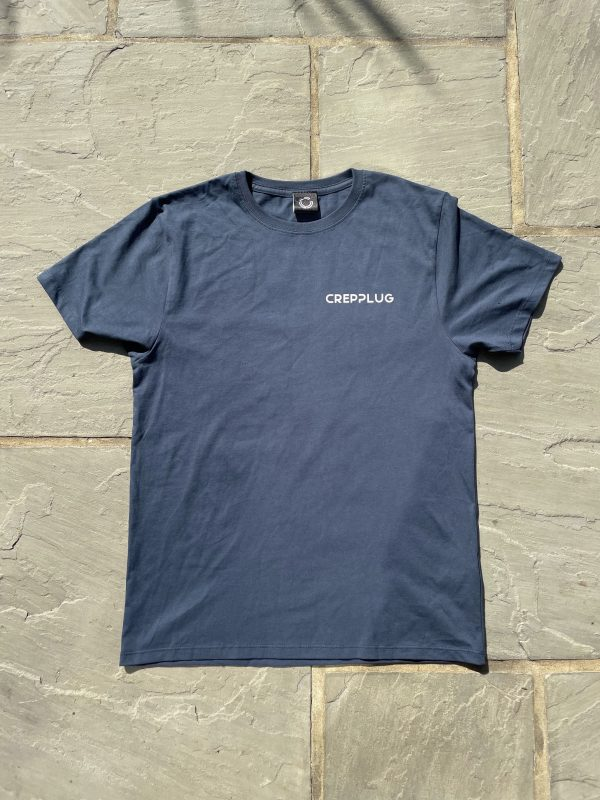 Crepplug 'Growth' T-Shirt Denim Blue