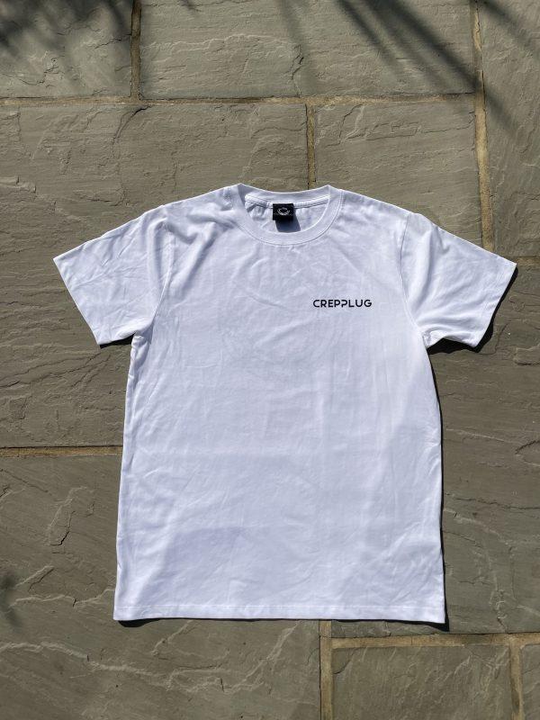 Crepplug 'Growth' T-Shirt White